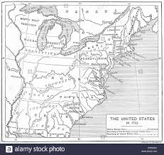 13 Original Colonies Blank Map by Us History Maps United States Of America 13 Fallen Stars