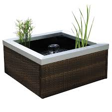 shop smartpond patio pond kit at lowes com