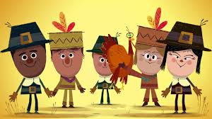 thank you for thanksgiving happy thanksgiving from the storybots