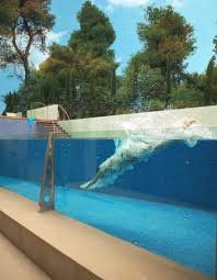 modern glass swimming pool innovative swimming pool design made