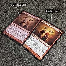 differences between mtg original cards white blue black