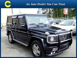 mercedes g class amg for sale 1997 mercedes g class g500 luxury 4x4 104k s for sale