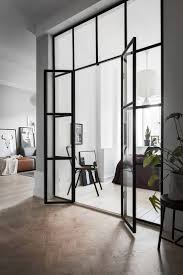 best 25 glass walls ideas on pinterest glass door wall small grey scandinavian apartment gravity home