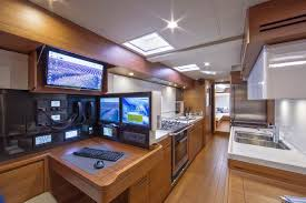 sws 94ft yacht interior photography nautique tv