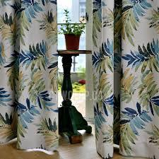 Unique Curtains For Living Room Leaf Tropical Unique Curtains For Living Room