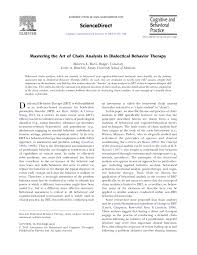 Dual Diagnosis Worksheets Mastering The Art Of Chain Analysis In Dialectical Behavior