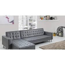 canapé d angle convertible en lit le silba gris canapé d angle convertible lit achat vente