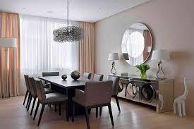 dining room mirror wall interior design