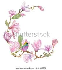 Flower And Bird - roses leaves bird doodle illustration stock vector 478327102