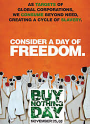 buy nothing day this friday