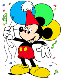 mickey mouse birthday disney birthdays and clip disney clip galore