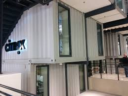 raleigh nc citrix office made from shipping containers