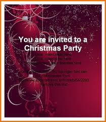 christmas party invitation template powerpoint holiday word
