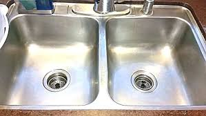 how to polish stainless steel sink stainless steel sink cleaner stainless steel kitchen sink cleaner