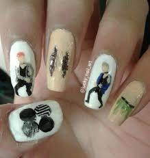 favourite bts nail design army u0027s amino