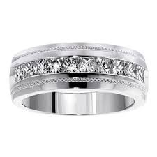 mens wedding bands with diamonds men s wedding bands groom wedding rings shop the best deals