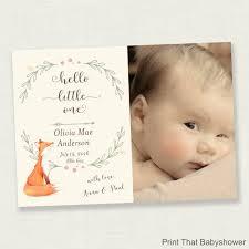 baby announcement card birth announcement photo card ba