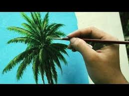 best 25 how to paint palm trees ideas on pinterest palm tree