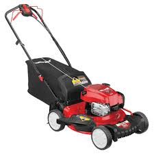 troy bilt self propelled rear wheel drive lawn mower