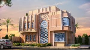 Building Designs Modern Islamic Design Villa In Saudi Arabia Designed By Mcube