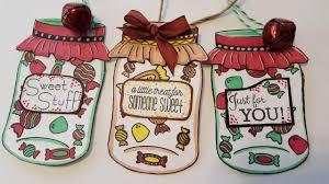 mason jar gift tags holiday christmas crafts youtube