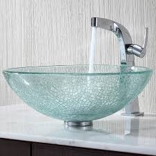 Cracked Glass Bathroom Accessories 40 Catchy And Dazzling Bathroom Sinks Sinks Vessel Sink And