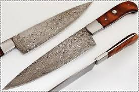 damascus kitchen knives for sale only 4 left at 75