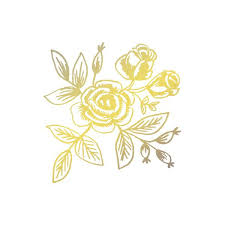 gold flowers tattly gold floral by rifle paper co from tattly temporary tattoos