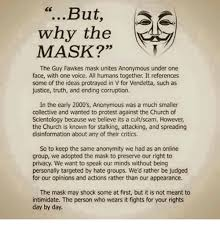 Guy Fawkes Mask Meme - but why the mask the guy fawkes mask unites anonymous under one