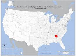 State Reference Map by Atlanta State Map Atlanta Georgia On Map United States Of America