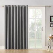 Charcoal Grey Blackout Curtains Gray Energy Efficient U0026 Blackout Curtains Walmart Com