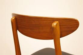 mobilier vintage scandinave chaise de salle à repas vintage scandinave de farstrup 1960