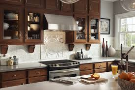 tiles backsplash red mosaic tile backsplash cabinets black