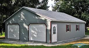 Single Car Garages by 2 Car Garages Built On Site 2 Car Garages Horizon Structures