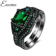 black wedding rings with pink diamonds wedding rings black gold rings with pink diamonds black gold