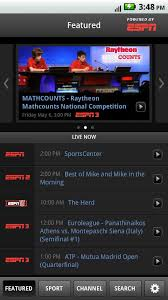 espn app for android watchespn app hits the market only available to select cable