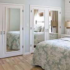 Closet Door Idea Mirrored Closet Doors Interior And Closets For Mirror Door Idea 15