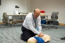 gust organizes certified heart saver first aid with cpr u0026 aed