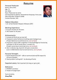 resume writing format pdf resume sle pdf malaysia writing format for in 3 it 2