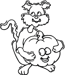 ddog pumpkin coloring pages coloring