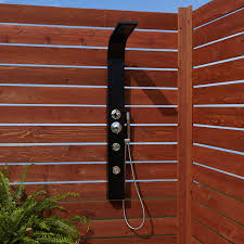 Outdoors Shower - denton two jet outdoor shower panel with hand shower outdoor