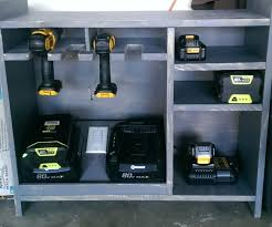 Charging Shelf Station by Cordless Tool Charging Station 4 Steps