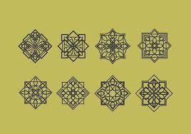 islamic ornaments vector decoration free vector