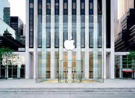 a look at the redesigned fifth avenue apple store in new york city