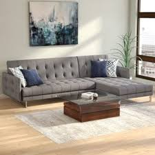 Sofa Bed Sectional Modern Sleeper Sectionals Allmodern