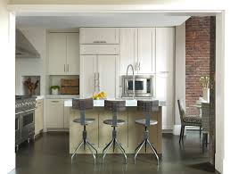 Restoration Hardware Bar Table Restoration Hardware Bar Stools Kitchen Modern With Brick Wall