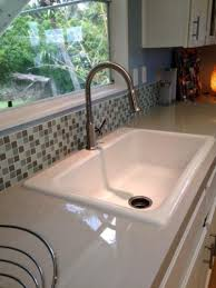 Acrylic Kitchen Sink by Thermocast Manhattan Drop In Acrylic 33 In 4 Hole Single Basin