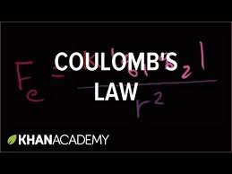 coulomb u0027s law video khan academy