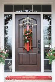 decorating front doors wooden for homes christmas front door