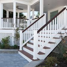 vinyl railing kit with colonial balusters american choice